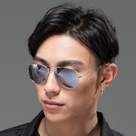 宝岛眼镜 蛤蟆镜偏光复古太阳眼镜 49元包邮