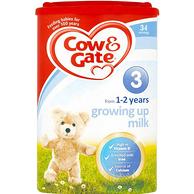 Cow&Gate牛栏  婴儿配方奶粉 3段 900g