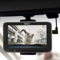 高清夜视!360 行车记录仪二代 美猴王领航版 J511C