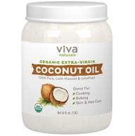Viva Labs 有机初榨椰子油 1.6L
