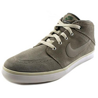 新低!Nike 耐克 Suketo Mid Leather Round Toe 男士中帮休闲鞋