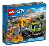 新低!LEGO 乐高 60122 火山探险履带式潜孔钻车