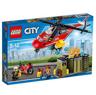 LEGO 乐高 City 城市系列 60108 消防直升机组合