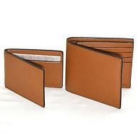 Coach 蔻驰 男士真皮钱包 带证件夹 棕色 74.99美元约¥517(原价175美元)