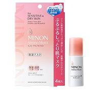 16年度COSME大赏第1,MINON 敏感肌肤用 氨基酸面膜套装(4张面膜+化妆水II20ml*1)