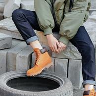 Timberland制造商生产,网易严选 英伦牛皮防水工装男靴
