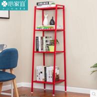 心家宜 置物架客厅收纳架简易书架浴室厨房置