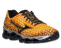 Mizuno 美津浓 Wave Prophecy 预言3 男款旗舰跑鞋 骚橙色 70美元约430元