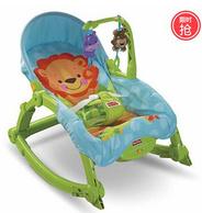 新低!Fisher-Price 费雪 W2811 可爱动物多功能轻便摇椅