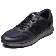 ECCO 爱步 Sneak Tie Fashion Sneaker 男士真皮休闲运动鞋