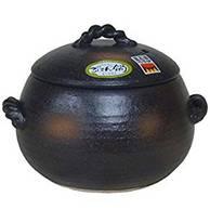 三鈴陶器 日本万古焼 7合炊砂锅石锅土锅