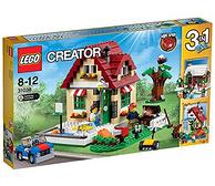 双重优惠:LEGO 乐高 创意百变系列 31038 变换的季节 338元包邮(京东最低428元)