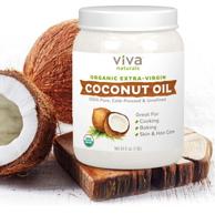 Prime会员:美国进口 Viva Labs 有机初榨椰子油 1.6L