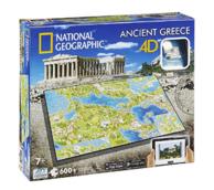4D Cityscape 4D古希腊立体拼图