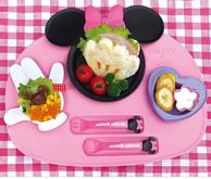 日本锦化成 米妮卡通午餐盘套装