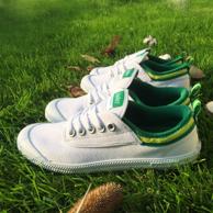 王菲同款 Volley Australia 小白鞋 低帮平底帆布鞋V00105