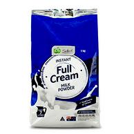 临期大白菜 澳洲 woolworths 高钙全脂奶粉1KG