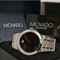 Movado摩凡陀 Corporate Exclusive系列 0606276 石英男表 279美元约¥1912(京东4400+)