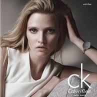 Calvin Klein Sartoria系列 女士清新椭圆石英表 K3D2M116