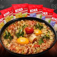 全球10大泡面之一 新加坡 KOKA 进口泡面 方便面8袋