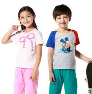三枪 儿童纯棉家居服套装