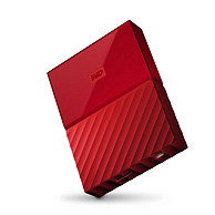 My Passport  西部数据 4TB 2.5寸移动硬盘 红色