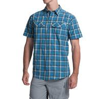 Columbia 哥伦比亚 Silver Ridge男士格纹防晒速干短袖衬衫 4色