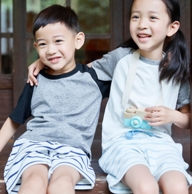 网易严选 儿童夏日拼色短袖T恤