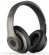 秒杀价!Beats Studio Wireless 头戴式蓝牙无线耳机 钛金色MHAK2PA/B
