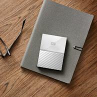 西部数据 New My Passport 移动硬盘 1TB 2.5英寸 白色