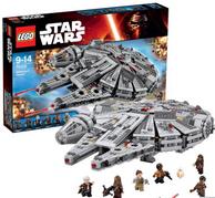 新低!LEGO 乐高 75105 Star Wars星球大战系列 千年隼号