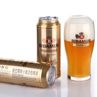 德国进口 彼巴慕斯 精酿酵母型白啤酒500ml*24罐
