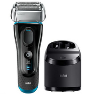 Braun博朗 全身水洗电动剃须刀5050cc 含清洁底座