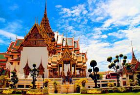 泰国曼谷六天含税机票+接机 1506元起