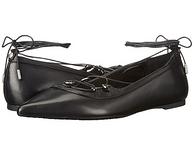 MICHAEL Michael Kors Tabby 女士真皮绑带平底鞋鞋 2色