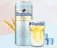 比利时进口 Hoegaarden福佳 白啤酒 500ml*12听