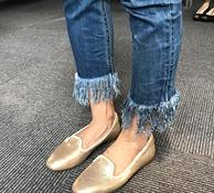 补货!Prime会员:Clarks其乐 Chia Milly女士真皮一脚蹬休闲鞋