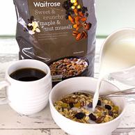 Waitrose 枫糖和坚果混合什锦早餐麦片 1kg*2袋