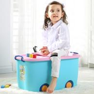 承重60kg!沃之沃 特大号儿童玩具收纳箱