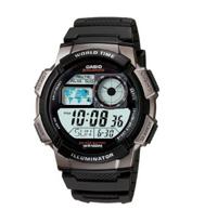 Casio 卡西欧SATANDARD DIGITAL系列 AE-1000W-1B男款运动腕表 prime会员139元包邮