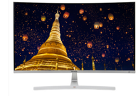 ViewSonic优派 VX3216-SCH 31.5英寸 1800R曲面电脑液晶显示屏 京东秒杀价1299元赠送无线键鼠套装(原价1999元)