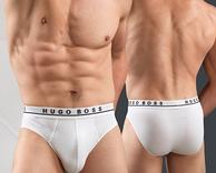 手慢无!限M码,HUGO BOSS 男士纯棉内裤3条装 2色