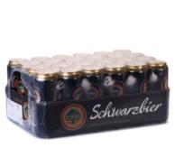 德国进口  EICHBAUM艾斯宝  黑啤酒 500ml*24听