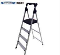 全球安全梯第一品牌 稳耐 AJ4-1 铝合金折叠4步梯