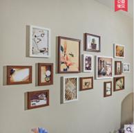 景宇 客厅无痕钉挂15框照片墙