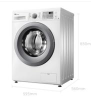 历史低价!LittleSwan 小天鹅 TG90-easy70WDX 9公斤 变频 滚筒洗衣机
