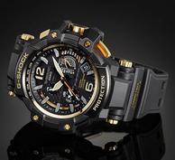 CASIO卡西欧 G-Shock系列 空霸 GPW1000GB-1A 男士运动腕表 408.99美元约¥2773(京东4000+)