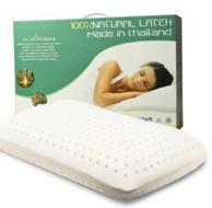 婴儿般睡眠!ECOLIFELATEX 伊可莱 泰国进口纯天然乳胶枕 prime会员专享折后价348元包邮