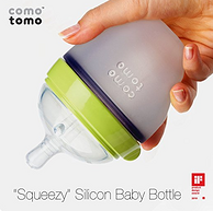 凑单品,prime会员:Comotomo 可么多么 宽口径硅胶奶瓶 150ml