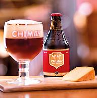 白菜!比利时进口 ,Chimay智美 红帽 精酿啤酒 330ml*6瓶*2套